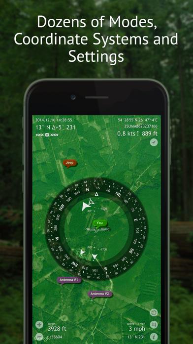 Commander Compass review screenshots