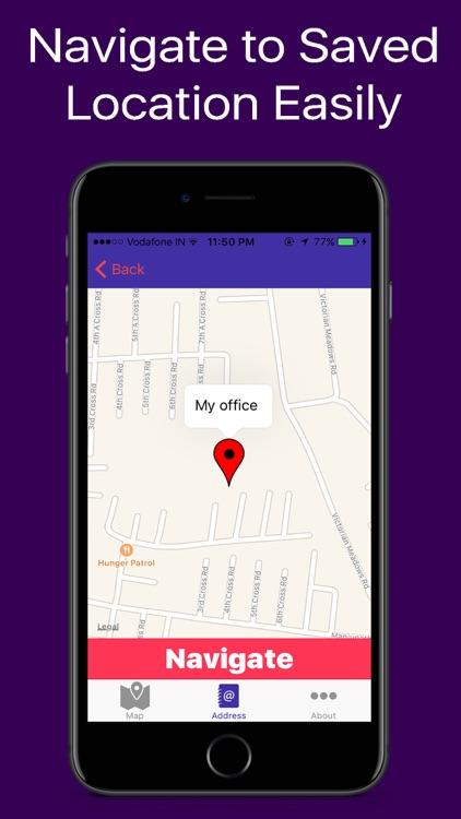 GPS Address Book
