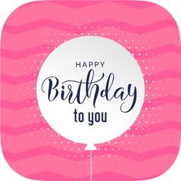 Birthday Greeting Card & Frame