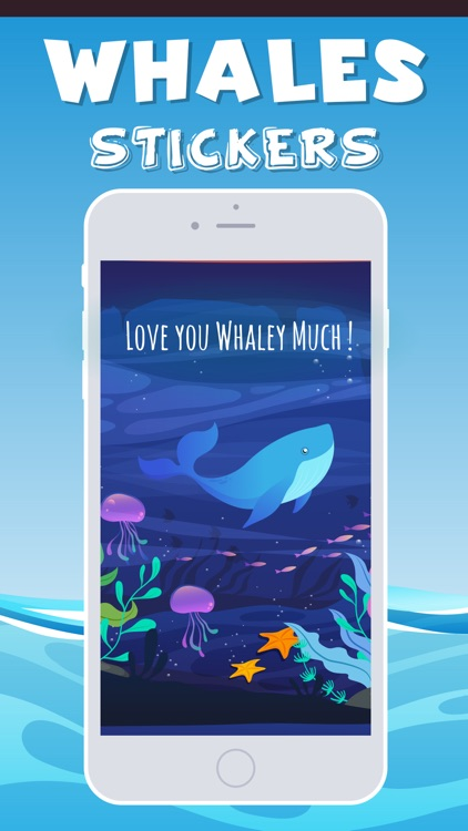 Whales Emojis screenshot-1