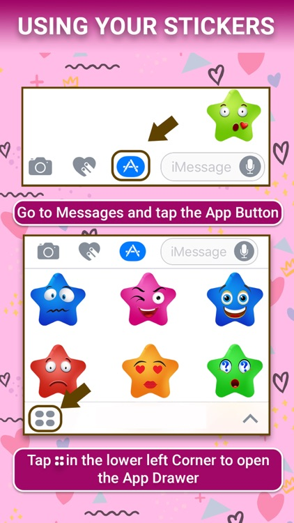 Star Face : Animated Stickers
