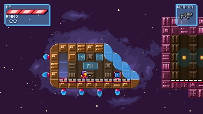 Deep Space | Space-Platformer screenshot 1