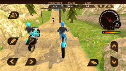 ダートバイクレーシング:トライアルエクストリームモトスタントライダーのおすすめ画像1