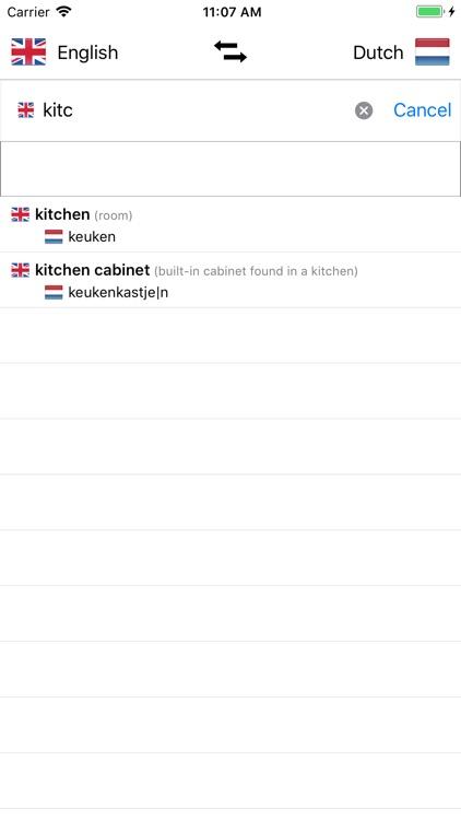 Dutch/English Dictionary screenshot-3