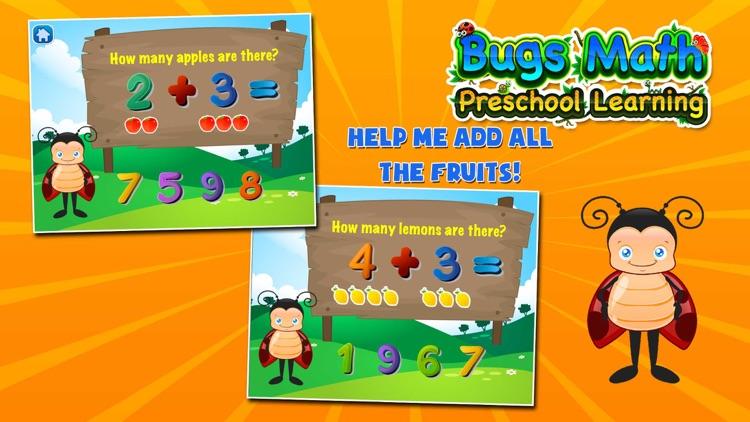 Bugs Math Games