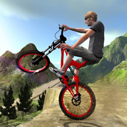 Mountain Bike Simulator BMX 3D iOS App