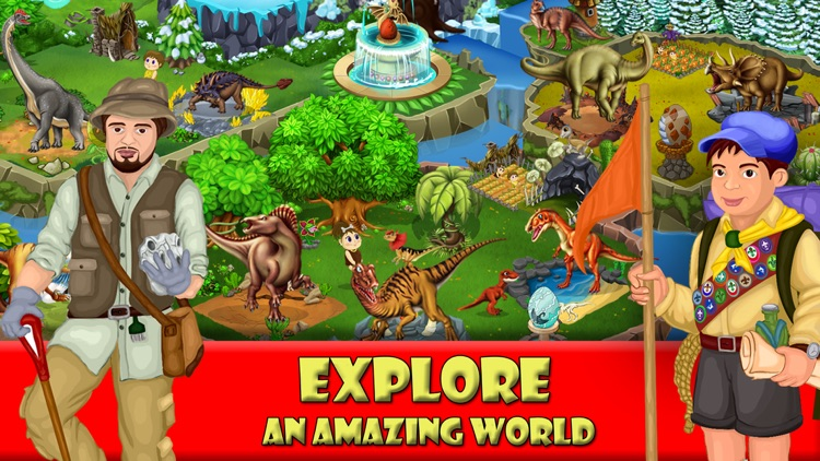 Dinosaur Zoo-The Jurassic game screenshot-4