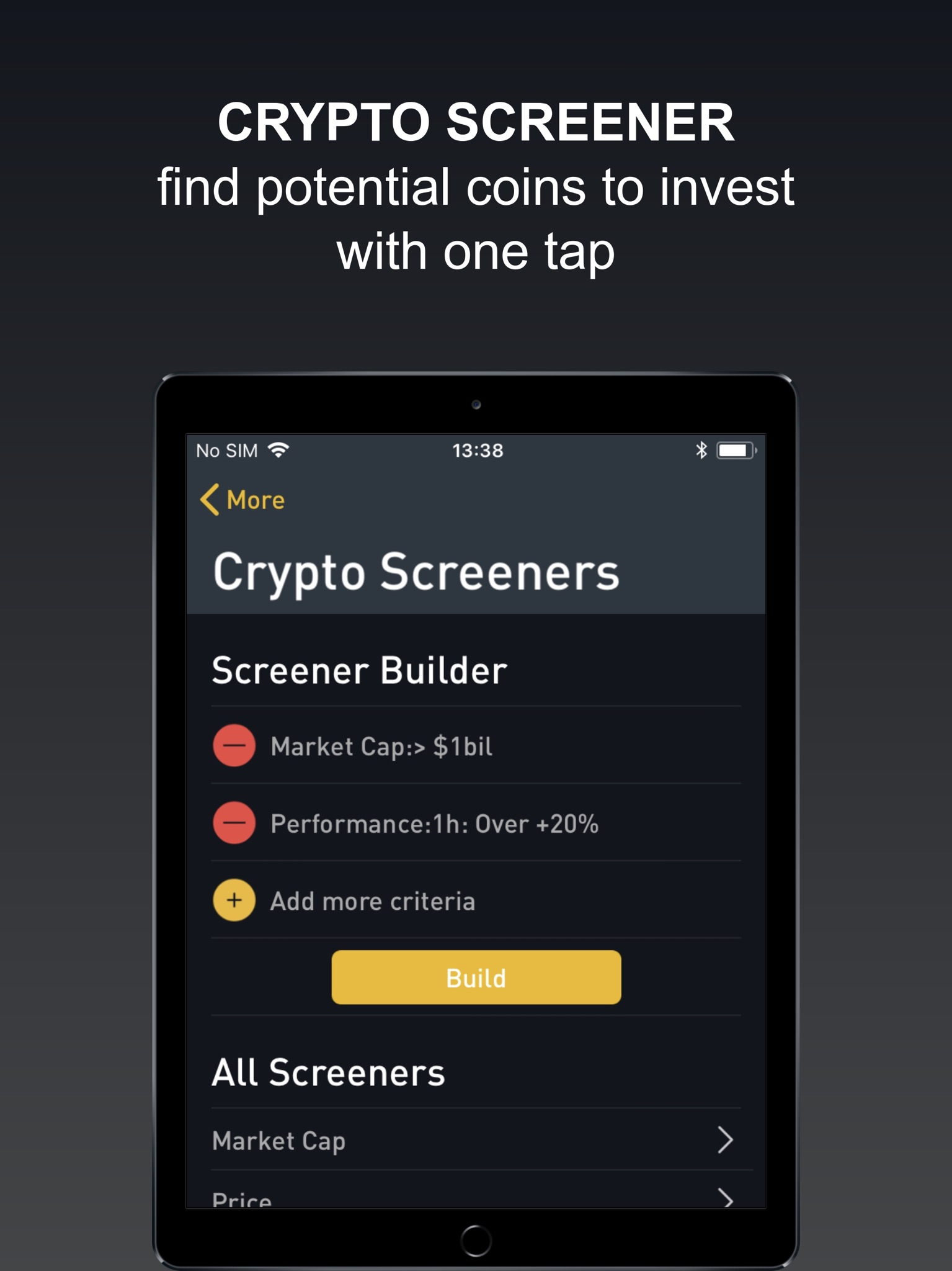 set up bitcoin alerts