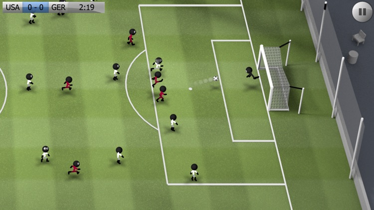 Stickman Soccer screenshot-0