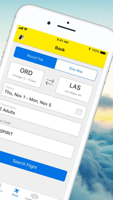 messages.download Spirit Airlines software