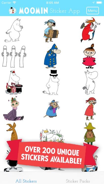 Moomin Sticker App screenshot-3