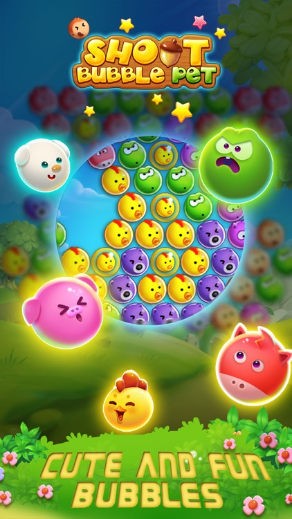 Bubble Shoot Pet screenshot-4