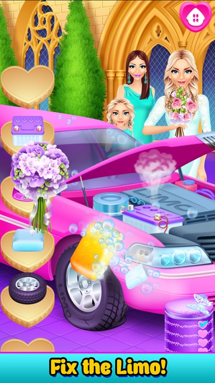 Mommys Crazy Wedding Day Salon screenshot-3
