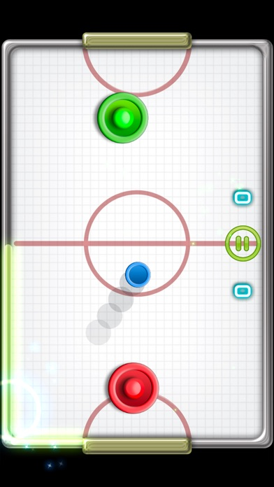 Screenshots of Glow Hockey 2 FREE for iPhone