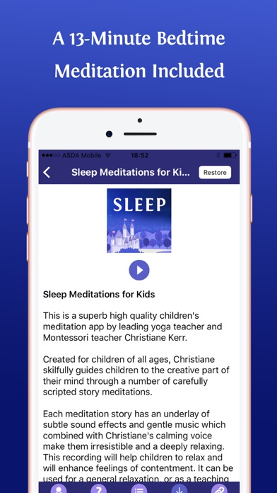 Sleep Meditations for Kids | App Price Drops