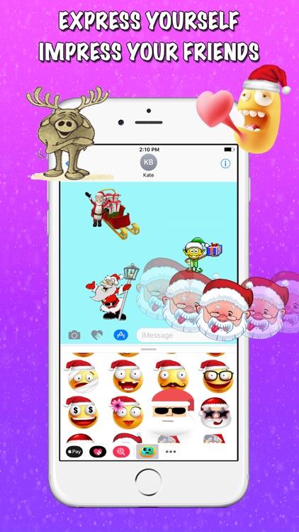 Cmoji  Christmas Sticker Pack screenshot-3