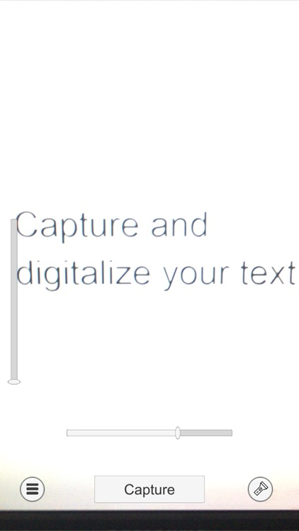 Image to text scanner