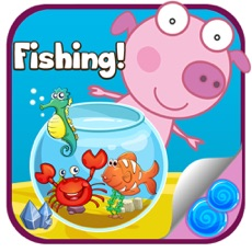 Activities of Fishing with Peppy The Pinky Pig