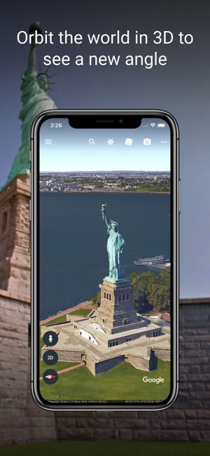 Google earth on the app store screenshots gumiabroncs Gallery