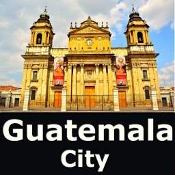 Guatemala City Travel Map
