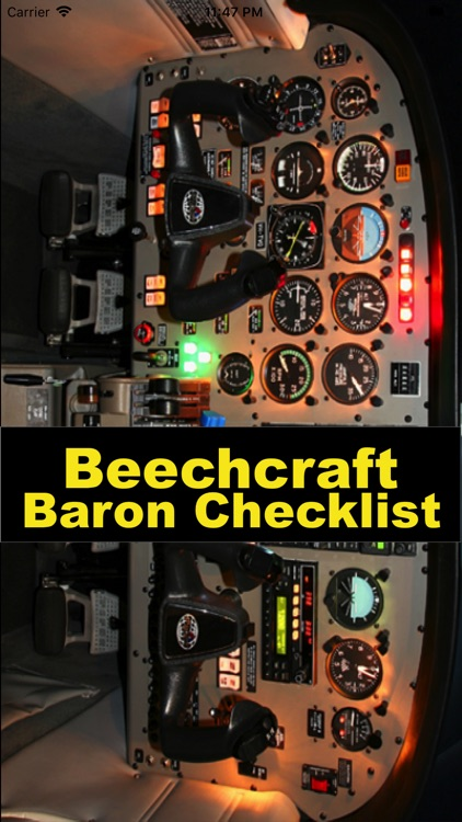 Beech Baron Flight Checklist