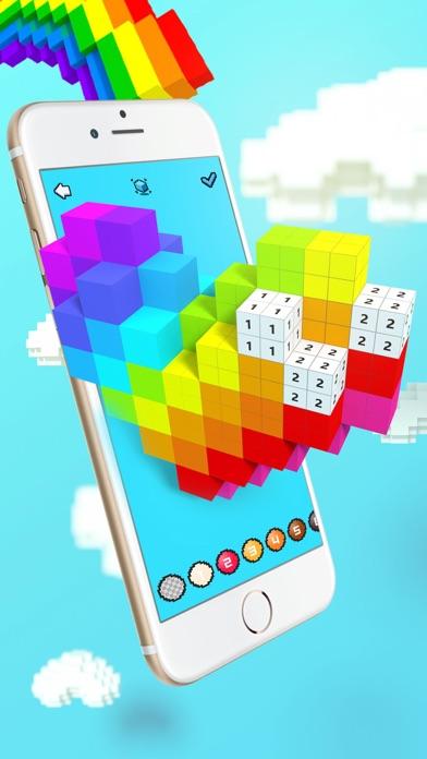 Voxel - 3D Color by Number screenshot 1