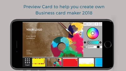 Business card maker name card design creator by photo studio custom business card maker reheart Images