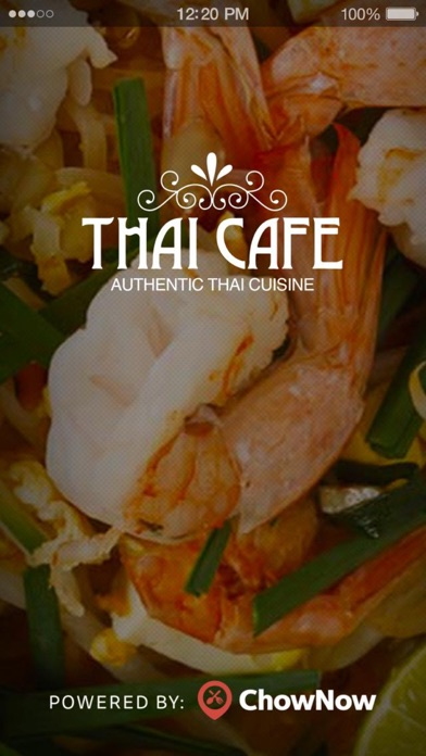 Thai Cafe screenshot 1