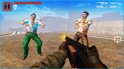 Zombie Predator Undead Shooter screenshot one