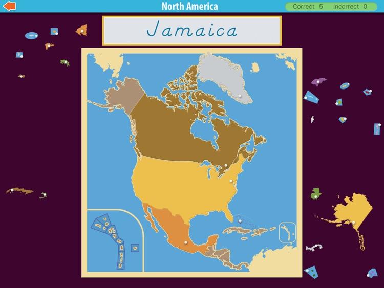 North America - Montessori Approach To Geography screenshot-3