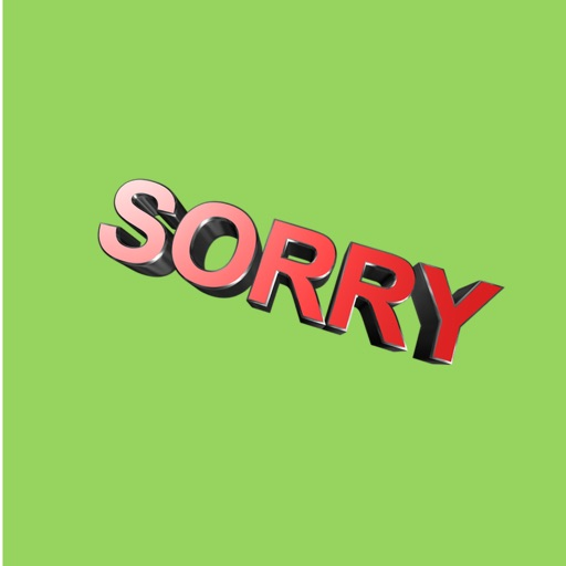 My I'm Sorry Sticker Pack