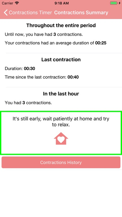 Contraction Timer & Counter screenshot-3