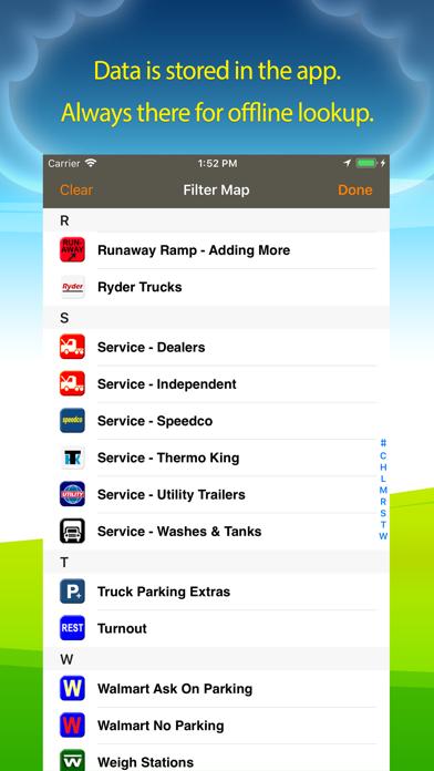 Truck Stops & Travel Plazas Screenshot