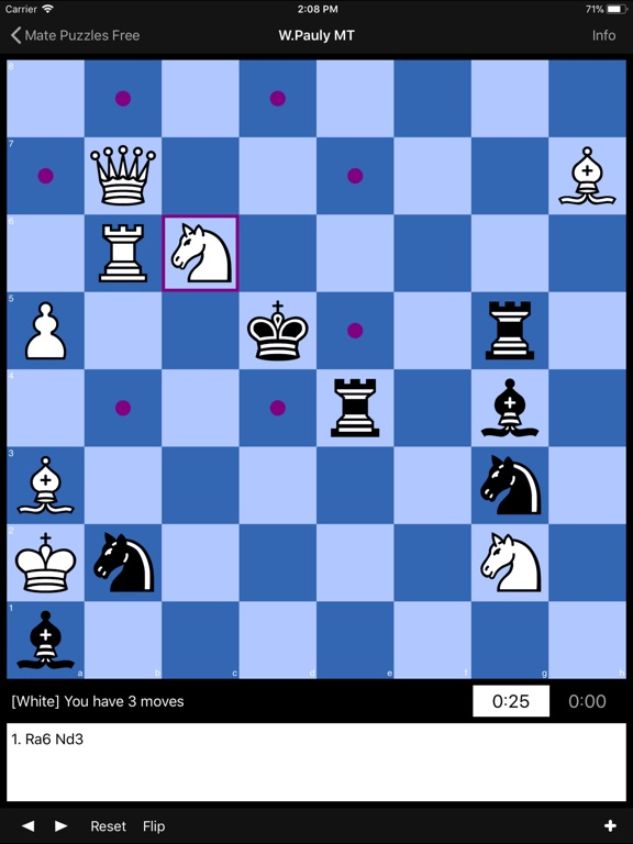 Chess Puzzles Lite Скриншоты6