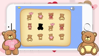 Cute Bear Match Find The Pair