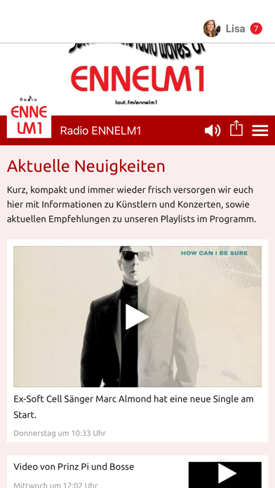Radio ENNELM1 screenshot 1