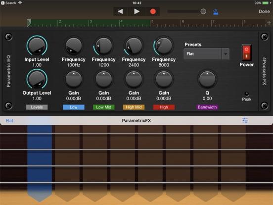 Stereo Graphic EQ AUv3 Plugin screenshot 4