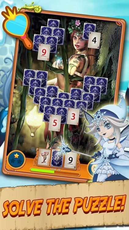 Solitaire Elven Wonderland screenshot-3
