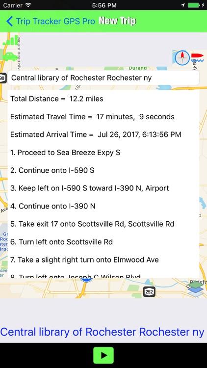 Trip Tracker GPS Professional screenshot-4