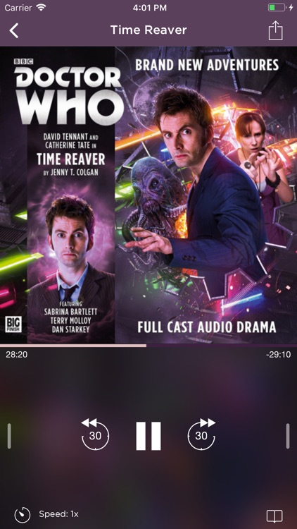Big Finish Audiobook Player