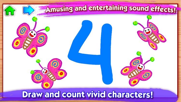 123 Draw Kids to Learn Numbers screenshot-4