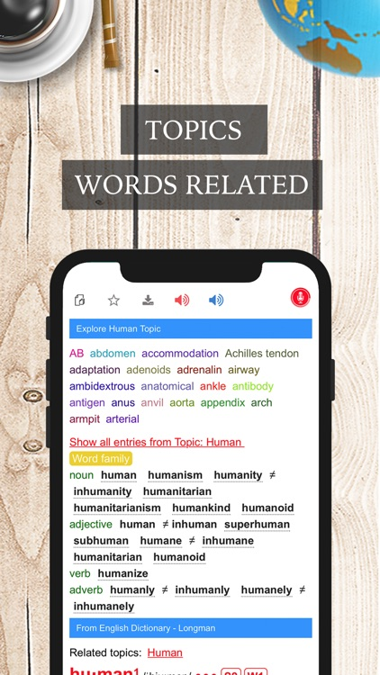 LMDictPro - English Dictionary screenshot-3