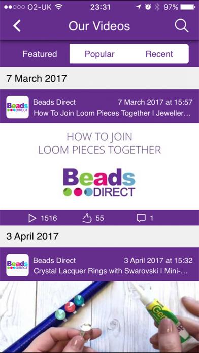Beads Direct screenshot three