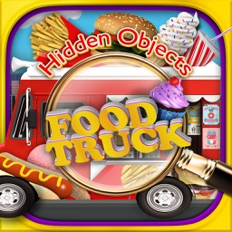 Hidden Objects Food Truck - Junk Candy Object Time