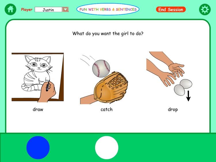 Fun Verbs & Sentences Lite HD