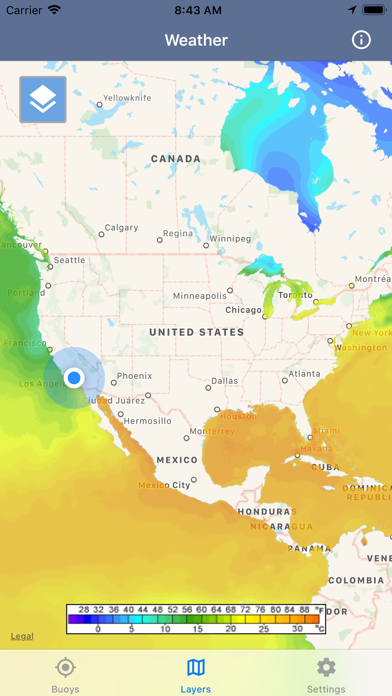 Ocean Water Temperature screenshot 2