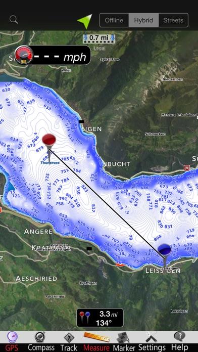 Thunersee - Brienzersee CartasCaptura de pantalla de1