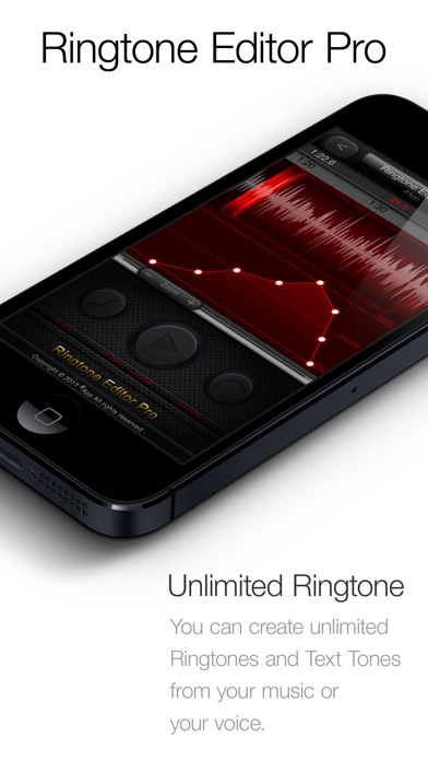 Screenshot #1 for Ringtone Editor Pro