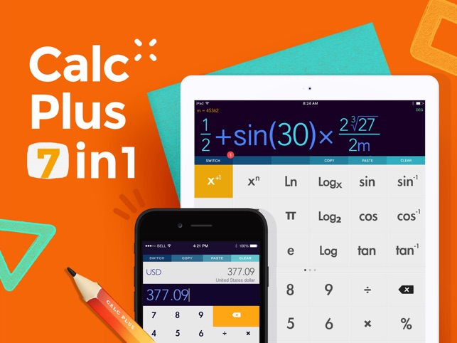 The best calculator apps for the ipad.