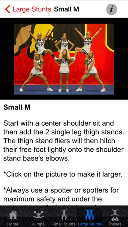 Cheerleading Skills screenshot-4